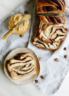 This chocolate peanut butter babka is a dessert-like bread with a rich swirled filling and loads of flavor! Learn how to make it today! Chocolate Babka, Chocolate Peanuts, Chocolate Peanut Butter, Chocolate Pastry, Baking Recipes, Dessert Recipes, Pastry Recipes, Babka Recipe, Braided Bread