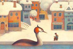 Illustrations for Fatatrac 2015 calendar Paolo Domeniconi
