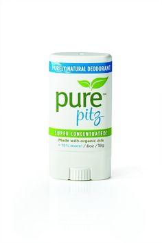 Pure Pitz, Organic Deodorant from Purely Lisa