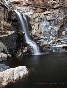 Tanque Verde Falls in Tucson, Arizona