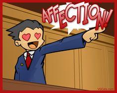 Phoenix Wright spoof! Affection
