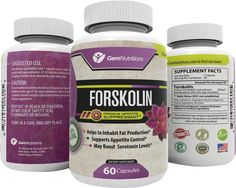 100% Pure Natural Forskolin Extract 60 Capsules - Best Weight Loss Fat Burner - Coleus Forskohlii Root Standardized 20% - 60 Diet Pills - 1 Month Supply => See this awesome image @ : Garcinia cambogia