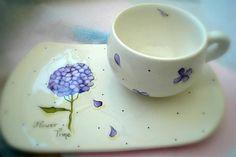 Ceramic Design, Tea Cups, Clay, Plates, Tableware, Painting, Baby Shower, Ideas, Ceramic Art