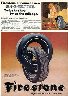 firestone tires advertising hot rod magazine april flickr photo sharing