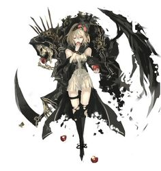 Zerochan has Pixiv Fantasia anime images, and many more in its gallery. Anime Fantasy, Fantasy Girl, Manga Girl, Anime Art Girl, Gothic Anime Girl, Anime Girls, Dark Anime, Anime Demon, Manga Anime