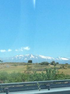 The Sierra Nevadas near Granada Spain