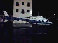 Helicóptero do INEM na HELIPISTA dos Bombeiros de Peniche