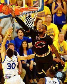 e66dde2396a0 Lebron James Cleveland Cavaliers 2016 NBA Finals Game 7 Photo (Size  8