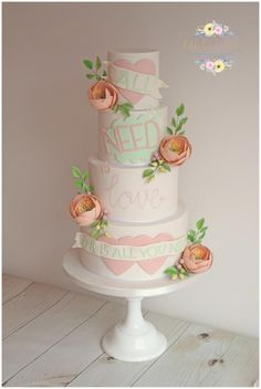 All you need is love... by Dollybird Bakes