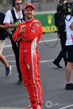 Sebastián Vettel, nummer 1 in qualifying