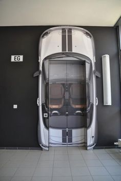 Twitter / thecoolhunter: The lifts at Mini HQ http: