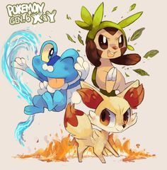 I'm pumped! Can't wait to finally get my hands on this game!                                               ---Pokémon Generation 6 by suikuzi on deviantART---