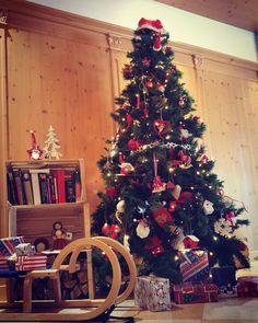 Christmas tree #falchettolovers #christmasiscoming #christmastree #winter #atmosfera #natale @valdinon @ilovevaldinon @visittrentino