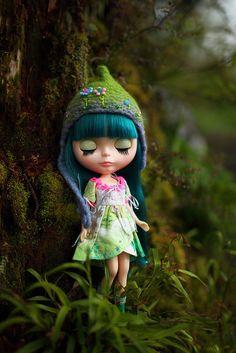 #blythe Ooak Dolls, Blythe Dolls, Barbie Dolls, Art Dolls, Pretty Dolls, Beautiful Dolls, Elfa, Gothic Dolls, Living Dolls