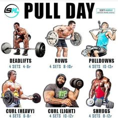 Do you deadlift on pull day? By ➖ Deadlift Push Pull Legs Workout, Push Workout, Gym Workout Tips, Weight Training Workouts, Fun Workouts, Workout Motivation, Bodybuilding Training, Bodybuilding Workouts, Bodybuilding Plan