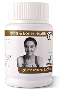 Glucosamine Tablets (Pack of 60) Glucosamine is a natural compound and a normal constituent of glycosaminoglycans. It is found in healthy cartilage and synovial fluid. Glucosamine helps lubricate joints and supports healthy cartilage. It also helps in osteoarthritis, particularly of the knee. In certain cases it helps promote cartilage regeneration. VISIT : http://myvestigeproduct.weebly.com/