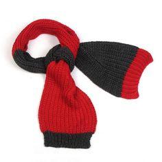 Woolen Yarn Knitted Scarf