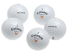 Callaway HX Hot Recycled Golf Balls (36 Pack) - http://www.closeoutball.com/golf-balls-closeout-sale/callaway-hx-hot-recycled-golf-balls-36-pack-2/