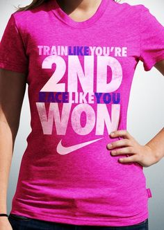 Words to train by. #motivation #inspiration #nike