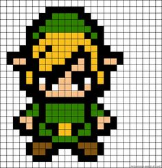Your Childhood Lives On In Perler Beads: 40 Nerdy 8-Bit Patterns | Autostraddle                                                                                                                                                      More