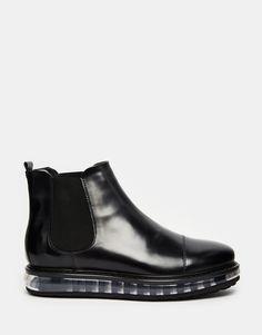 Image 2 ofRoyal Republiq Aero Leather Chelsea Boots