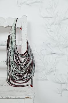 chains necklace by Uli Rapp  photo: Laila Cohen styling: Nanny de Bruin