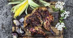 Hel Kylling på grillen   Netto Tandoori Chicken, Bbq, Ethnic Recipes, Food, Potato Salad, Crickets, Barbecue, Barbacoa, Meal
