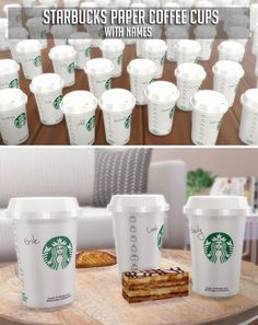Sims 4 CC - Starbucks paper coffee cups with male and female names by Descargas . - The Sims 4 - Sims 4 CC - Starbucks paper coffee cups with male and female names by Descargas . - The Sims 4 - The Sims 4 Pc, Sims Cc, Die Sims 4 Packs, Café Starbucks, Sims 4 Kitchen, Smart Kitchen, Muebles Sims 4 Cc, Sims 4 Mods Clothes, Sims 4 Bedroom