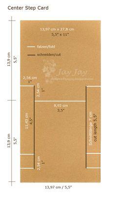Center Step Card template - bjl