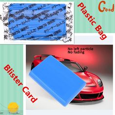 188g Solid Car Washing Clay Auto Cars Efficient Washing Mud Bar Auto Detailing Cleaner Car Washer Blue Vehicle Clay Cleaning