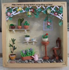 quilled-frame-summer-greenhouse-with-tutorial/