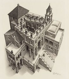 BBC Arts - BBC Arts - 'Chaos is present everywhere': The mysterious world of MC Escher