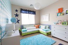 Project Nursery - DIY Pallet Beds - Shared Boys Room
