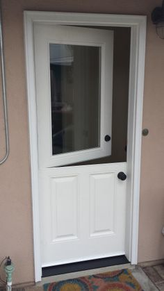 Double dutch doors in black with a 9 light top dutch doors another dutch door this one has clear glass planetlyrics Images
