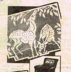 Old Crochet PATTERN Alice Books 7076 Chair Set by BlondiesSpot
