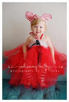 Olivia the Pig Tutu Costume!!! I just died a little!! Love love!