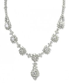 18K MOISSANITE ELITE NECKLACE 41CTW. MOISSANITE