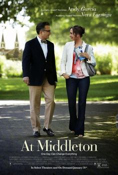 At Middleton is a 2013 American romantic comedy film starring Andy García, Vera Farmiga, Taissa Farmiga, and Spencer Lofranco. The film follows a man and a woman as they meet and fall in love while taking their children on a college tour. The film had its world premiere at the Seattle International Film Festival on May 17, 2013. It was released in a limited release and through video on demand on January 31, 2014 by Anchor Bay Films.
