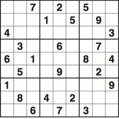 Sudoku 2,965 medium