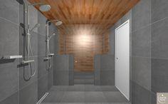 Koti rakennetaan tunteella: Kylpyhuone