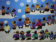 Tacky the Penguin inspired Mural by Paintbrush Rocket, via Flickr