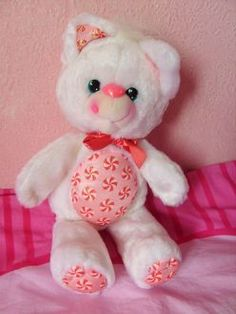I never had one of these darling scented plush toys (this one smelled sweetly like peppermint), but I certainly remember seeing them when I was a kid. #toys #cute #retro #nostalgia #childhood #1980s #1990s