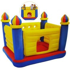 Inflatable Castle Bouncer A Great Indoor Or Outdoor Jump-O-Lene House Jumper Bouncers for Kids Birthday Parties Is A Best Cheap Bouncy Buy On Sale - Jump Round Rooms Slide Sales
