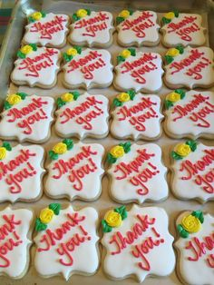 Thank you cookies by The13thCookie