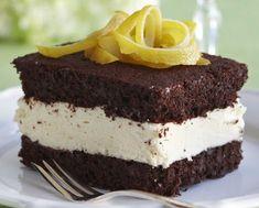 Chocolate and lemon cakes - Suklaa-sitruunaleivokset, resepti – Ruoka. Cake Recipes, Dessert Recipes, Desserts, Finnish Recipes, Cake Pops, Cupcake Cakes, Cupcakes, Sweet Tooth, Sweet Treats
