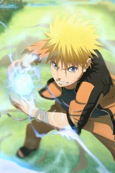 Manga/Anime - Naruto Creation art, lineart and colouring by -