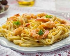 One pot pasta aux crevettes et lait de coco pour repas entre amis