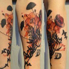 Xoil, Needles Side Tattoo