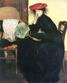 Alfred Henry MAURER - La Palette et le Rêve..... Eugenia Maurer. American
