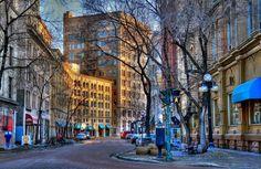 The Exchange District Winnipeg